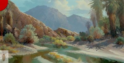 00166 In the Indian Canyons 24 x 48 (400)