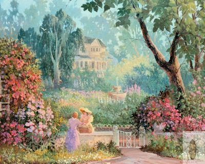 00171 Garden Gossip 20 x 24 (400)