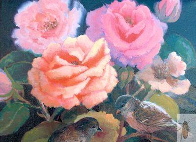 01323 Bird's Boquet 8 x 10 (400)