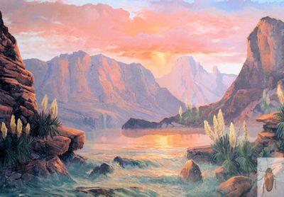 01329 Yucca Canyon 24 x 36 (400)