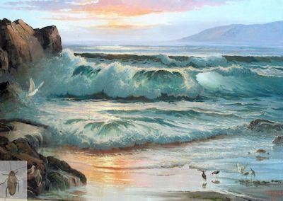 01332 Breaking Surf 24 x 30 (400)