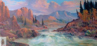 01337 Canyon Rapids 24 x 48 (400)