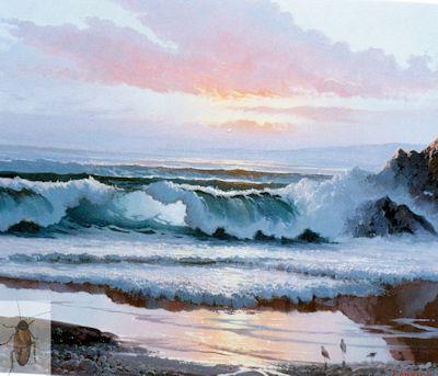 00179 Evening Sea 20 x 24 (400)