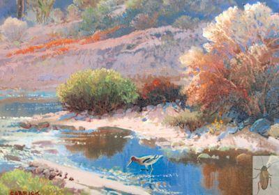 01350 Desert Avocet 8 x 10 (400)